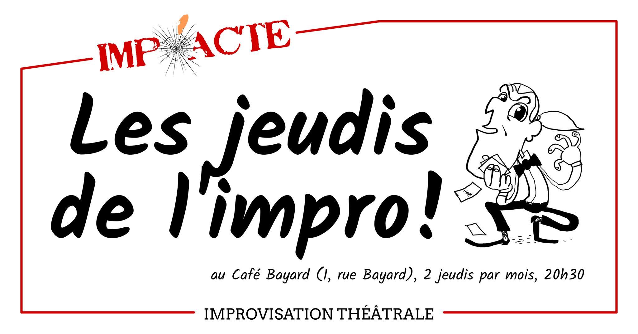 Jeudis de l'Impro au Café Bayard image